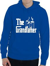 The Grandfather Fathers Day Grandad Funny Unisex Hoodie Size S-XXL