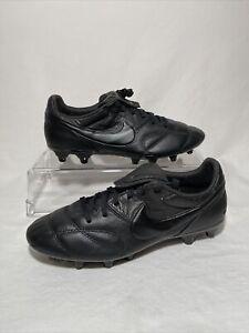The Nike Premier II FG Black 917803 005 Men's Size 10 Kangaroo Leather
