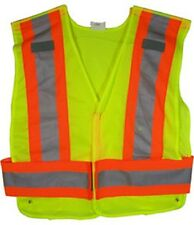 ANSI 207-2006 Public Service Safety Vests in Mesh Lime - Standard Size