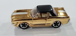 AURORA CIGAR BOX FORD MUSTANG GOLD