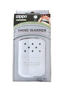 ZIPPO OUTDOOR DELUXE HAND WARMER, 12 HRS HEAT (NEW IN BOX).