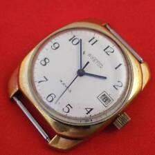 Gold plaetd Wostok Vostok men's watch Original USSR Soviet 18 jewels vintage