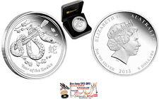 Lunar 2 SILVER-Coin: SNAKE 5 oz / 5oz PROOF BOX + COA Mintage 1,503