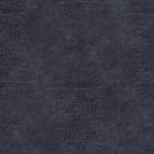 G67507 - Natural FX Black & Blue Animal Skin effect Galerie Wallpaper