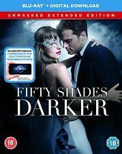 Fifty Shades Darker Unmasked Edition BD + Digital Copy [Blu-ray] [2017] [DVD]