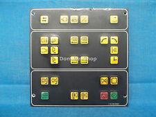 Netstal 110.240.9593 membrane operator panel with KOL 110.240.9539 circuit board