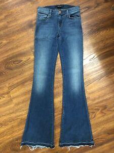 J Brand Jeans Sneaker Flare Low Rise Stretch 1187O212RH Ashbury Women's Size 25