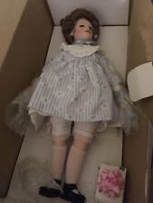 Kelly Porcelain Doll Hamilton Collection 16""