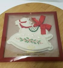 New Never Used Lenox Christmas Rocking Horse Cookie Press