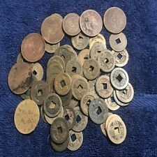 Chinese Ancient Copper Cash Coins 100% Genuine $10 & $20 cash copper coins china