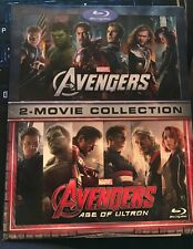 Marvels Avengers: 2-Movie Collection (Blu-ray Disc, 2016, 3-Disc Set)