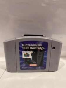 Nintendo 64 Test Cartridge Cart Rev A N64 Tested Works Ultra Rare Authentic