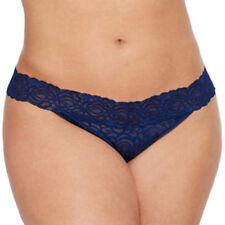 Flirtitude Women's Thong Panties Size Large Stunning Sapphire