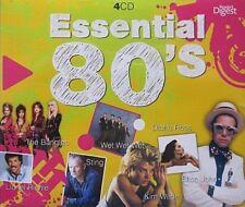 ESSENTIAL 80'S  - 4 CD