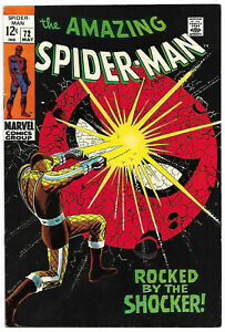 AMAZING SPIDER-MAN #72 VF/NM 9.0 High Grade Classic Cover HTF Nice Black Cover!