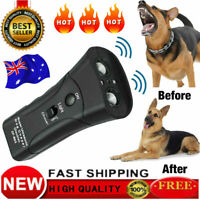 Electronic Anti Bark Device Repeller Trainer Ultrasonic Dog Control Stop Tool LX