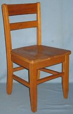 VINTAGE CHILDS OAK CHAIR MISSION STYLE CIRCA 1920's-30s ORIGINAL FINISH