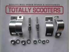 LAMBRETTA UPPER BOLT ON DAMPER BRACKETS FOR FORK LEG - PAIR