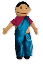 Girl Medium Puppet Buddies Olive Skin Tone Teaching KS1 EYFS