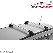New Genuine Nissan X-Trail T32 Roof Cross Bars-Flush Style G31574CF0AAU RRP $410