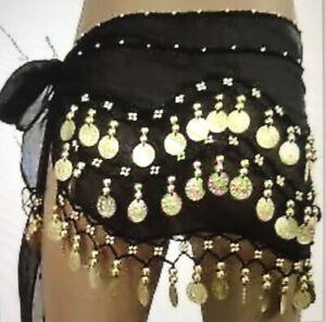 Black Belly Dancing Scarf.