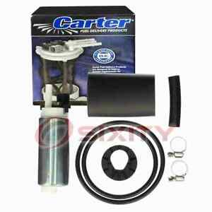 Carter In-Tank Electric Fuel Pump for 1991 GMC Syclone 4.3L V6 Air Delivery ud