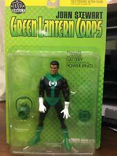 DC Direct Green Lantern John Stewart Green Lantern Corps Action Figure MIB