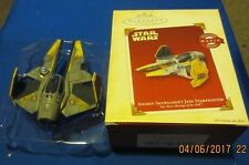 HALLMARK ORNAMENT STAR WARS 2005 ANAKIN SKYWALKER'S JEDI STARFIGHTER~NEW~TESTED!