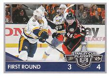 16/17 PANINI NHL STICKER STANLEY CUP PLAYOFFS #473 DUCKS PREDATORS VATANEN 24663