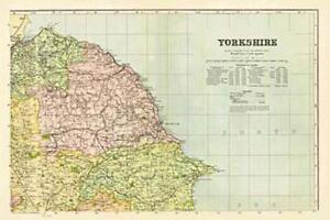 Yorkshire-North East(1900)Cassini Historical Map.Cassini Pub.End Of Stock!