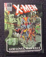 1982 Marvel Graphic Novel #5 X-MEN God Loves, Man Kills SC FF+ 6.5 9th Printing
