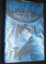 Harry Potter and the Order of the Phoenix J K Rowling Hardcover w/DJ 1st Edition