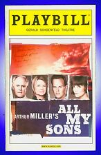 Playbill + All My Sons + Katie Holmes, John Lithgow, Dianne Wiest, Patrick Wilso