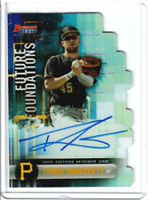 2019 Bowman's Best Travis Swaggerty Future Foundations Die Cut Auto /100
