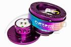Nrg Steering Wheel Gen 2.0 Quick Release Purple Body Neo Chrome Ring 200pp-mc