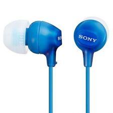 Auriculares movil Sony MDR-EX15 LPLI Azul Silicona cascos musica