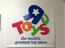 Toys R Us Vinyl Banner 47x48 from Store #8369 in Newport News, Va