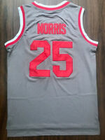 Zack Morris #25 Bayside Tigers Basketball Saved By The Bell Gray Jersey  S-3XL