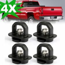 4PCS Car accessories Tie Down Anchor Truck Bed Side Wall Anchors for GMC Chevy