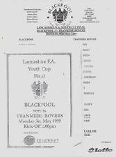 Blackpool Away Team FA Cup Final Football Programmes