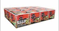 12-CASE Nongshim Shin Spicy Ramen Cup Noodles Soup Gourmet 4.2oz Instant Lunch