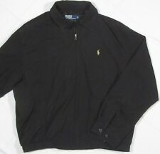 RALPH LAUREN ~ 100% Polyester Light jacket ~ Men's Large - Black