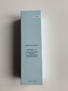 SkinCeuticals Retinol 1.0 Night Cream 30ml BRAND NEW AND SEALED 100% GENUINE