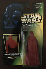 "Star Wars POTF2 3.75"" Emperor's Royal Guard with Force Pike MOC Hologram Sticker"