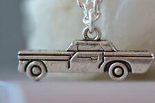 NI002 Car Necklace, Impala, Supernatural, Vintage, Retro, Licence, Driving