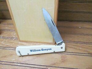 Vintage Mercator Solingen Germany William Kenyon Pocket Knife