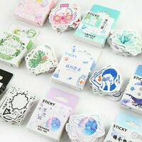 46PCS/Set Stickers Kawaii Stationery DIY Scrapbooking Diary Label Stickers Kit
