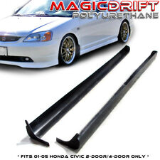 For 01-05 Honda Civic 2Dr / 4Dr Type-A RS Style Side Skirts Skirt Poly Urethane