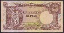 Indonesia 500 rupiah 1957, EF, Pick 52