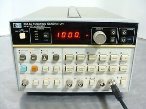 HP Agilent Keysight 3314A Programmable Function Generator DC - 20MHz TESTED